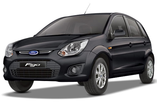 Ford Figo Black Color Pictures