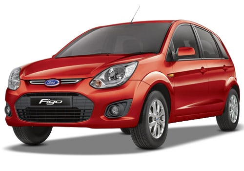 Ford Figo Red Color Pictures