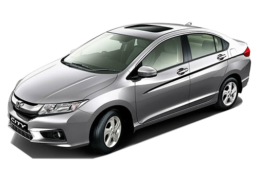 Honda City Silver Metallic Color Pictures
