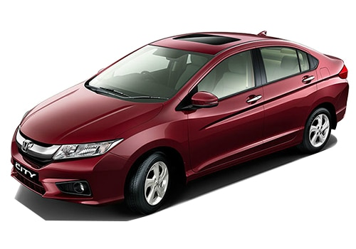 Honda City Red Color Pictures