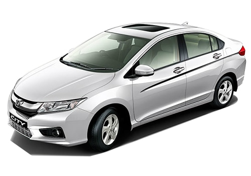 Honda City White Color Pictures