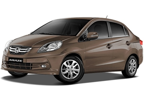 Honda Amaze Golden Brown Metallic Color