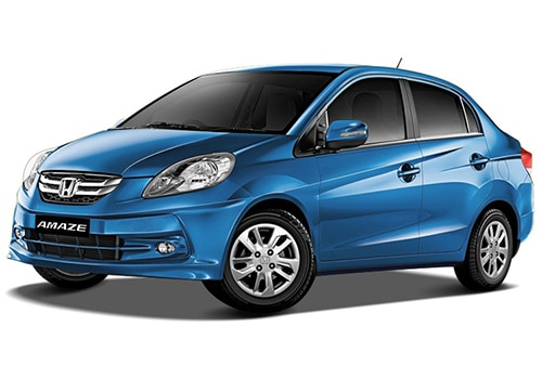 Honda Amaze Majestic Blue Mattlic Color