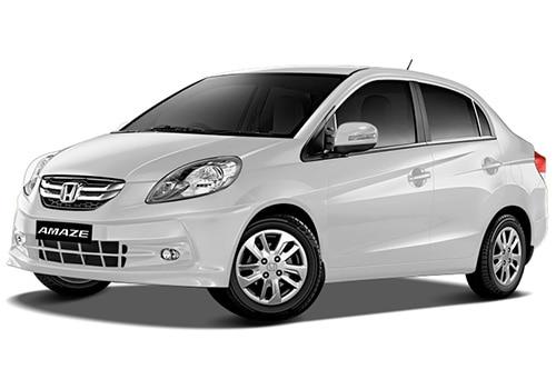 Honda Amaze Taffeta White Color