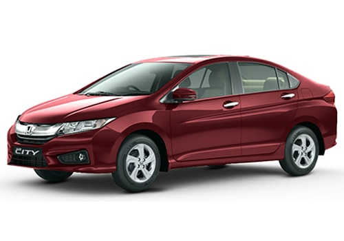 Honda City Carnelian Red Pearl Color