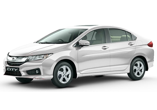 Honda City Tefeta White Color