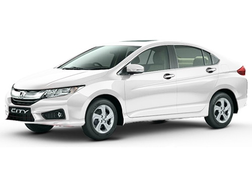 Honda City White Orchid Pearl Color