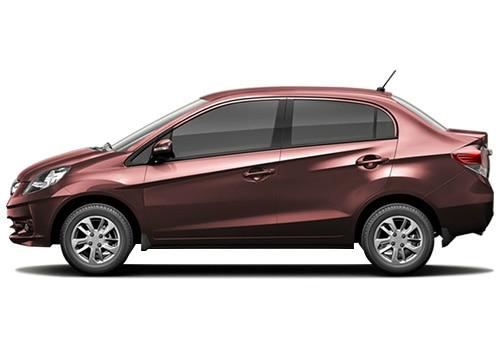 Honda Amaze Red Color Pictures