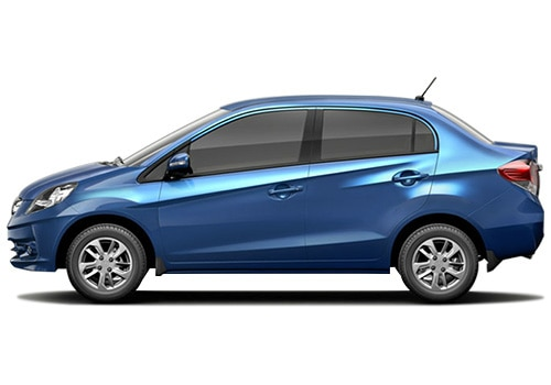 Honda Amaze Blue Mattlic Color Pictures