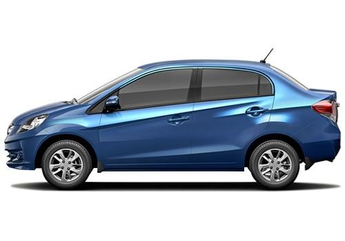 Honda Amaze Blue Mattlic Color Pictures
