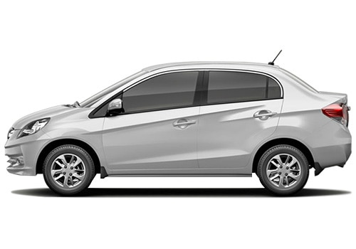 Honda Amaze White Color Pictures