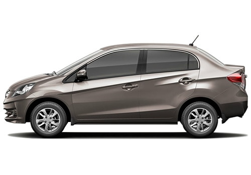 Honda Amaze Metallic Titanium Color Pictures
