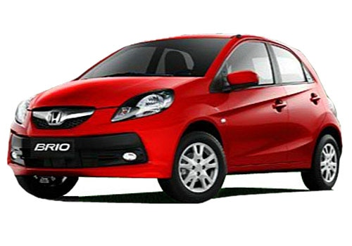 Honda Brio Rallye Red Color Picture