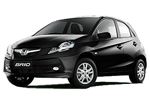 Honda Brio BLACK Color Pictures