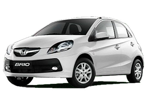 Honda Brio White Color Pictures