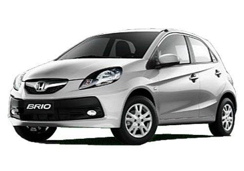 Honda Brio Alabaster Silver Color Picture
