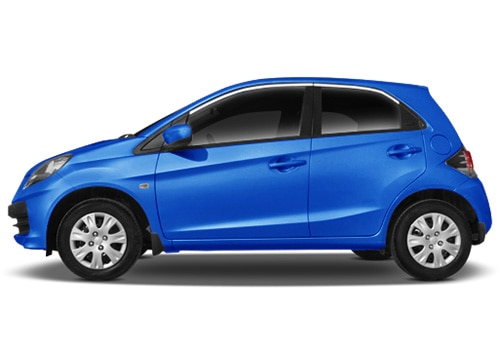 Honda Brio Blue Color Pictures