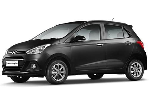 Hyundai Grand i10 Phantom Black Color Picture