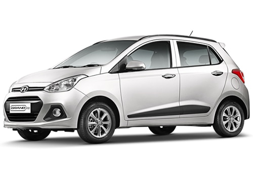 Hyundai Grand i10 White Color Pictures