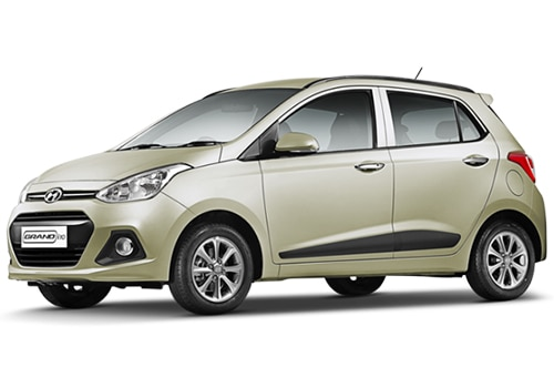 Hyundai Grand i10 Beige Color Pictures