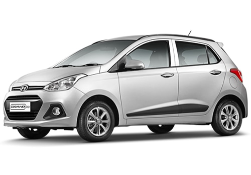 Hyundai Grand i10 Silver Color Pictures