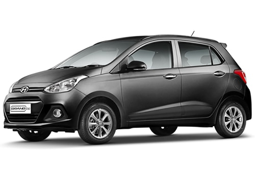 Hyundai Grand i10 green Color Pictures