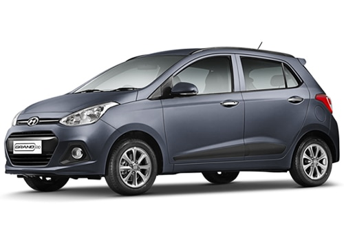 Hyundai Grand i10 Blue Color Pictures