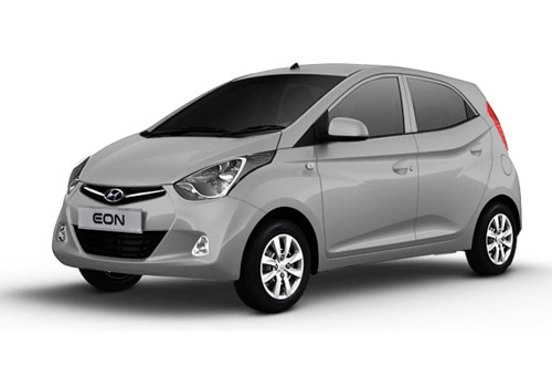 Hyundai EON Sleek Silver Color