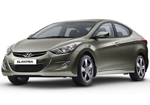 Hyundai Elantra Bronze Color