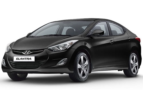 Hyundai Elantra Phantom Black Color