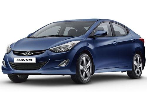 Hyundai Elantra Twilight Blue - Elantra Color