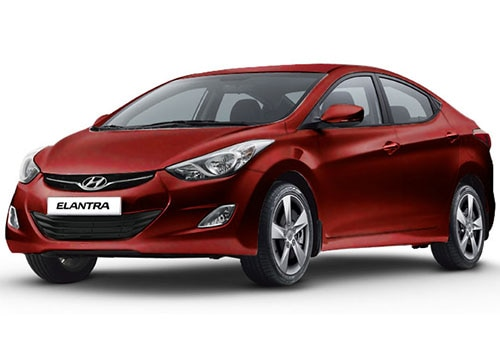Hyundai Elantra Maharajah Red Color