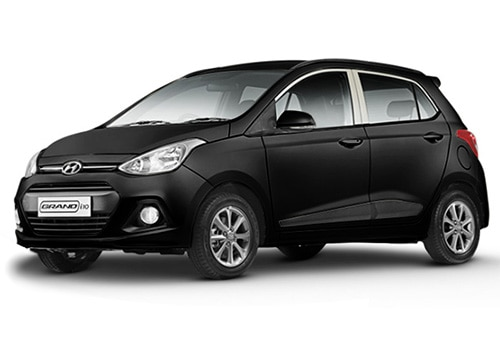 Hyundai Grand i10 Phantom Black Color