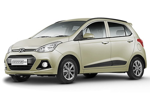 Hyundai Grand i10 Silky Beige Color