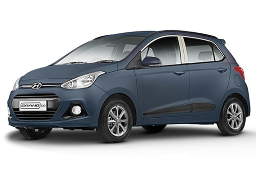 Hyundai Grand i10 Twilight Blue - Hyundai Grand I10 Color