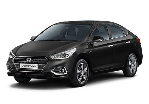 Hyundai 4S Fluidic Verna Phantom Black Color