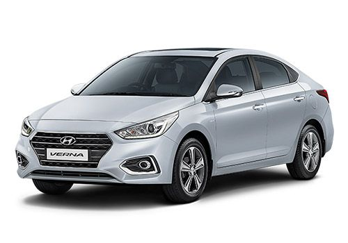Hyundai 4S Fluidic Verna Sleek Silver Color