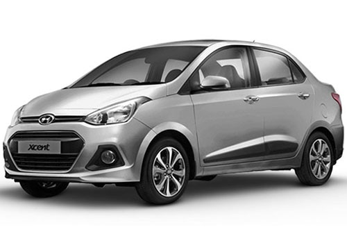 Hyundai Xcent Sleek Silver Color