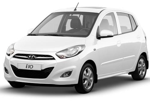 Hyundai i10 Pure white Color Picture