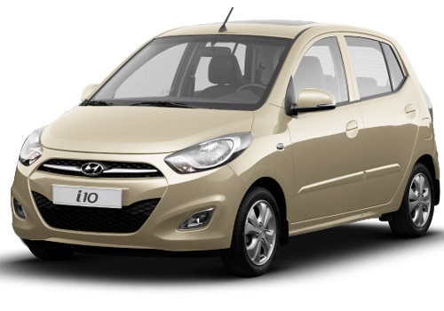 Hyundai i10 Beige Color Pictures