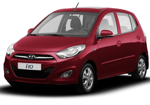 Hyundai i10 Red Color Pictures