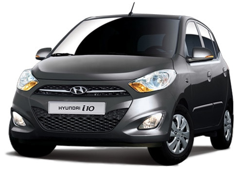 Hyundai i10 Carbon Grey Color Picture