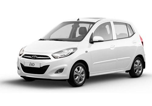 Hyundai i10 Pure white Color