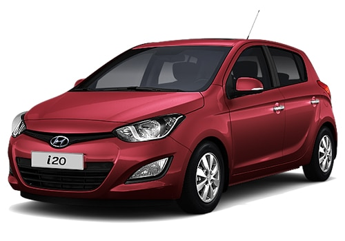 Hyundai i20 Red Color Pictures