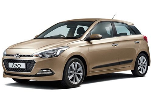 Hyundai Elite i20 Midas Gold Color