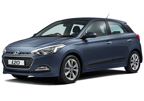 Hyundai Elite i20 Mystic Blue Color
