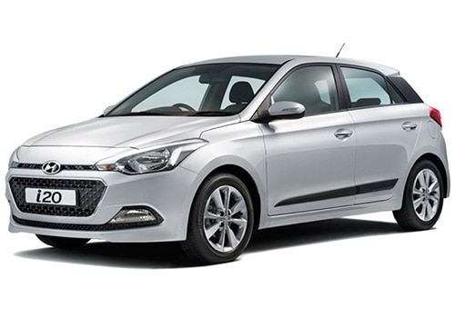 Hyundai Elite i20 Sleek Silver Color