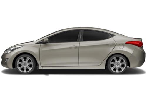 Hyundai Elantra Bronze Color Pictures