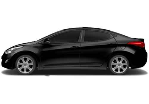 Hyundai Elantra black Color Pictures