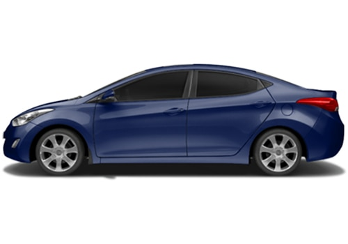 Hyundai Elantra Twilight Blue Color Picture